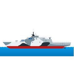 Amphibious assault war ship helicopter landing vector