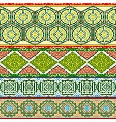 Arab patterns vector