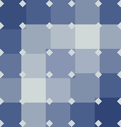 Blue abstract background geometric pattern vector image