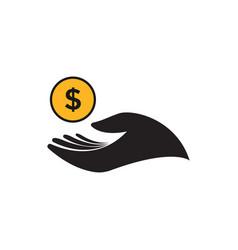 cash money icon graphic design template vector image