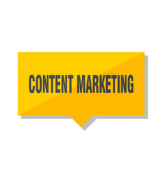 content marketing price tag vector image