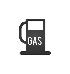 gas station icon gas station concept symbol vector image