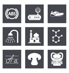 Icons for Web Design set 11 vector image