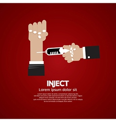 Inject vector image