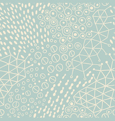Organic seamless abstract background vector