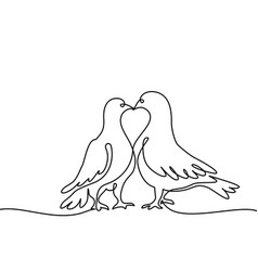 two swans logo vector image vector image