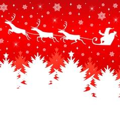 christmas back new vector image