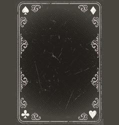 Abstract gambling vintage poster vector
