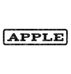 Apple watermark stamp vector