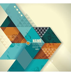 background vintage styleCan bu use for covers vector image
