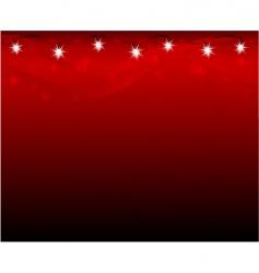Christmas lamps vector