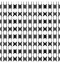Design seamless monochrome lattice pattern vector