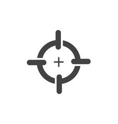 Focus logo template icon vector