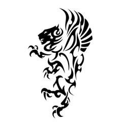 lion 3 vector image
