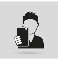 Selfie concept design vector