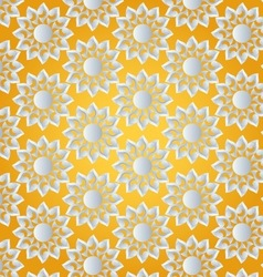 sun abstract pattern vector image