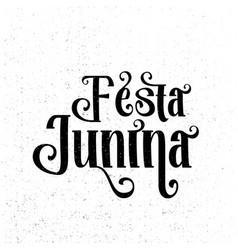 festa junina traditional brazil june festival vector image