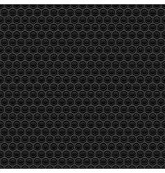 Black rubber texture vector image