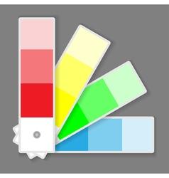 color palette vector image