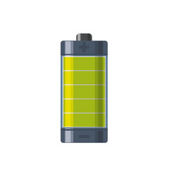electric battery rechargeable vector image