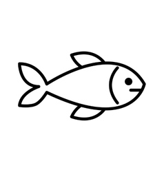 Fish meat isolated icon design vector
