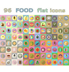 Food flat icons 05 vector