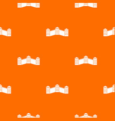 Great wall of china pattern seamless vector