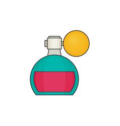 perfume flat icon vector image