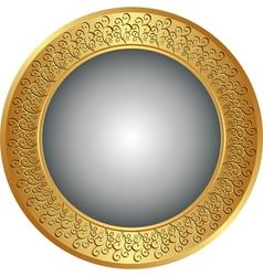 round background vector image
