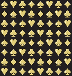 Royal Casino Seamless Pattern vector image