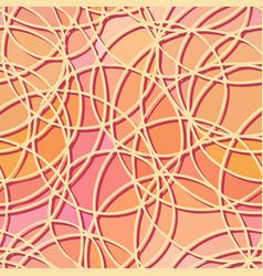 seamless abstract pattern circular elements vector image