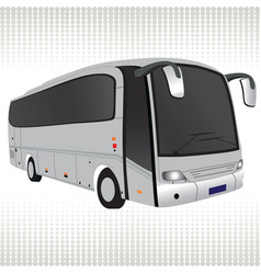 Tour bus vector