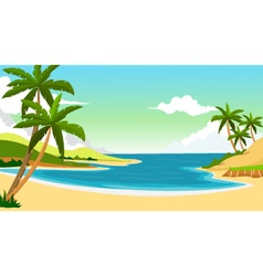 beach background for you design vector image vector image