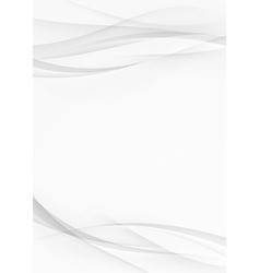 Abstract transparent wave document lines layout vector image vector image
