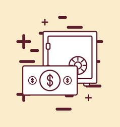 money savings design vector image vector image