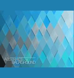 Abstract blue tile surface scene vector