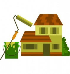 House and renovation vector