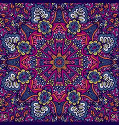 mandala pattern ornamental vector image