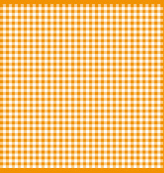 orange tablecloths patterns on the background vector image