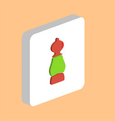 pepper shaker computer symbol vector image