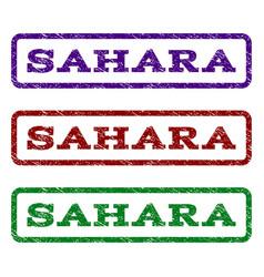 sahara watermark stamp vector image