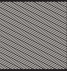 interlacing parallel stripes seamles vector image vector image