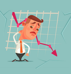 business fail vector image vector image