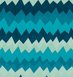 marine zigzag seamless pattern with grunge effect vector image vector image