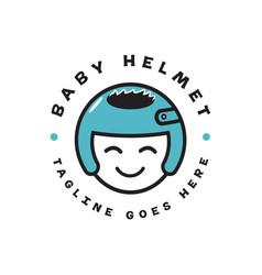 bahelmet logo vector image
