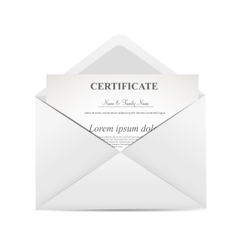 gift certificate envelope vector images 54