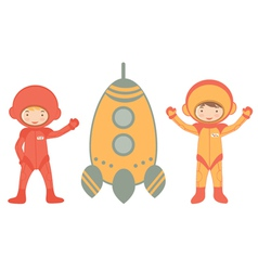 COSMIC KIDS vector image