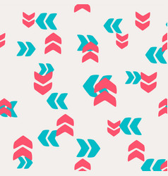 decorative pattern arrows and pointers vector image