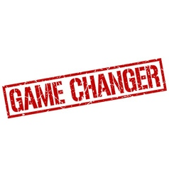 game changer stamp vector image