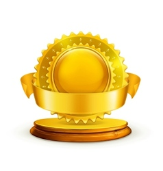Gold award vector